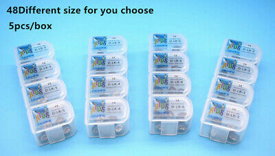 Dental Kids Primary Molar Crown Stainless Steel Pediatric 48 Sizes Hot Sale 9