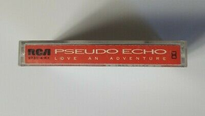 Pseudo Echo Love an Adventure 1987 RCA Records Audio Cassette 2