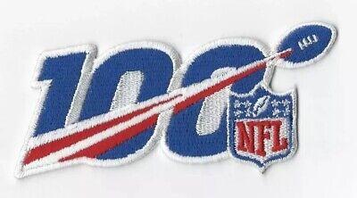 "2019 100th ANNIVERSARY SEASON NFL SHIELD PATCH 5"" 100 IRON ON FREE SHIPPING! 2"