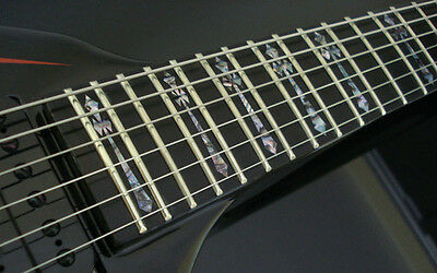 diamond cross abalone fret markers inlay decals for washburn hm or