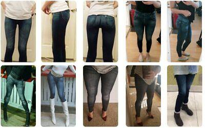 Pencil Pants Leggings Women Jeans Denim Design Pencil Pants Leggings High Waist 11