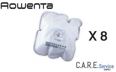 2 Confezion Sacchetti Rowenta Wonderbag Universal Allergy Care 8 Sacchi Endura 2