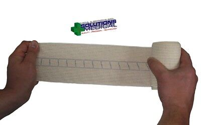 2 X Snake Bite Bandage With Compression Indicator 10Cm Width X 4.5M Stretched 2