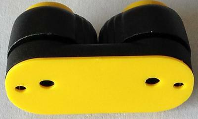 Yellow Top Small Composite Cam Cleat Nautos #91026 TY