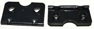 38mm BLACK EASEL STRUT HINGE PICTURE FRAMING FRAME HINGES HINGING SELF FIX 4