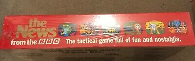 """Vintage New Sealed Board Game """"The News From The BBC""""  Great Games Company 1987 4"""
