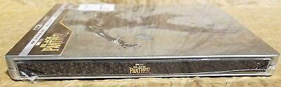 BLACK PANTHER 4K UHD HDR + Blu-ray + Digital Best Buy Limited Edition STEELBOOK 3