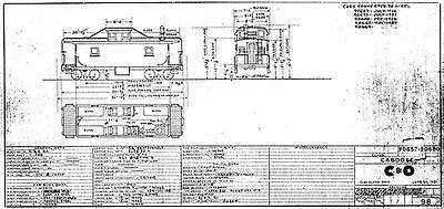 RailfanDepot Frisco SLSF Railway Freight Car Diagrams PDF on CD