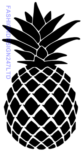 FLOWER PINEAPPLE MYLAR STENCIL HOME DECOR PAINTING WALL ART 125//190 MICRON