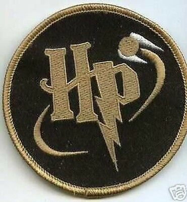 Británico Harry Potter Parche Dorado Snitch Quidditch Parche 2
