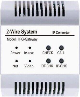 2Familien 2 Draht Video Türsprechanlage Video Sprechanlage Videospeicher 170° 12