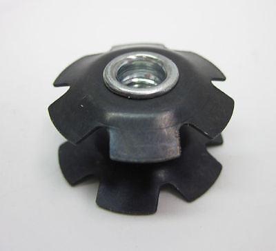 Fork Star Nut Origin-8 Threadless Headset Top Cap /& Bolt 1-1//8 Ano Blue
