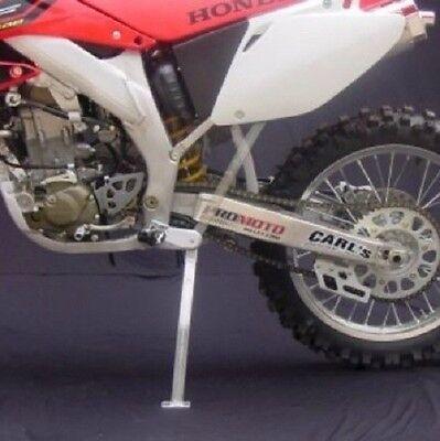 SILVER KAWASAKI KX250F 2006-2014 Pro Moto Billet Kickstand