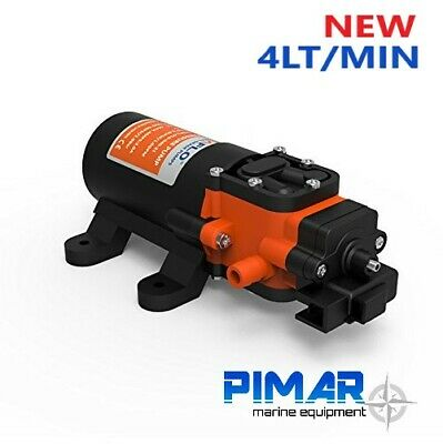 Pompa Autoclave Acqua 12V. - 4,0 Lt/ Min Barca Camper Seaflo Con Pressione 4.8 3