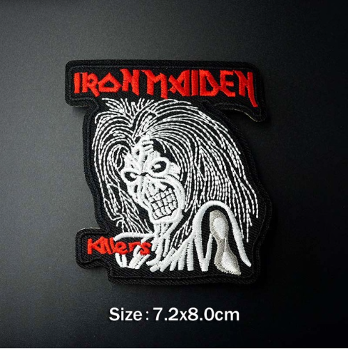 Toppa Patch Rock Band Acdc Pink Floyd Nirvana Iron Maiden Termoadesiva Ricamata 5