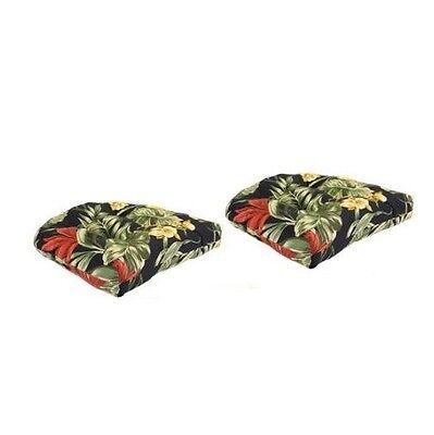 ... Wicker Patio Cushions 3 Piece Outdoor Seat Furniture Chair Loveseat Cushion  Set
