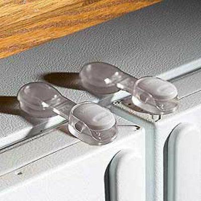 Safety 1st Refrigerator Lock Release Fridge Latch Baby Proof Child - 72319 2