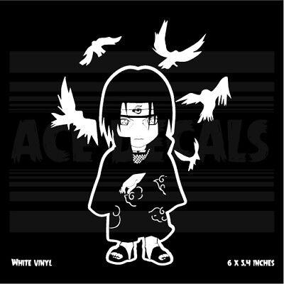 Naruto Sasuke Itachi Crows Laptop Car Vinyl decal sticker Japanase Anime