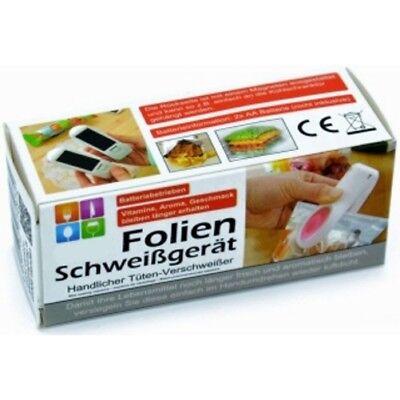 2x Folienschweißgerät Beutel Tüten-Verschweißer Vakuumiergerät Hand-Schweißgerät 2
