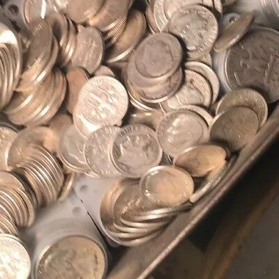 $1 Face Value - 90% Silver US Coins - Quarters & Dimes Mix 3