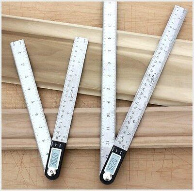 """iGaging 14"""" Digital Protractor Goniometer Miter Gauge Electronic Angle Finder 9"""