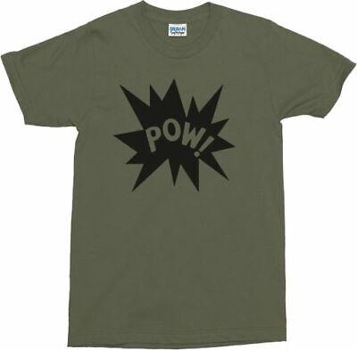 Pow! T-Shirt - Retro 60's, 70's, Pop Art, Comic Book Style, Various Colours 5