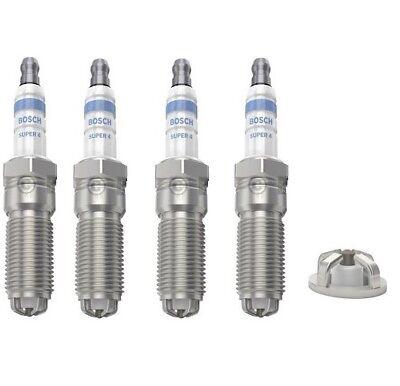 4x Ford Escort MK7 1.8 16V Genuine Bosch Super Plus Spark Plugs