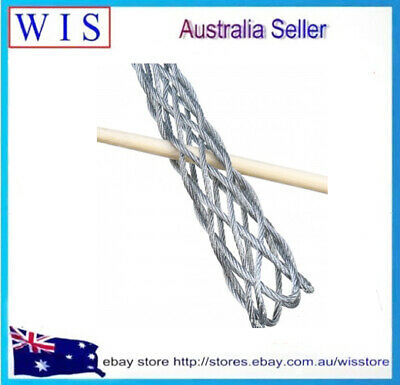 Galvanized Metal Cable Socks Antislip Pipe Conduit Cable Puller for 4-25mm 8
