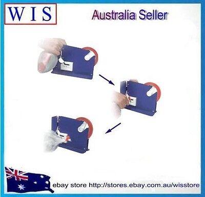 Veg Fruit Food Bag Neck Sealer Trimming Blade Sealing Dispenser with 48 x tapes