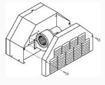 Central Boiler Draft Inducer Fan Kit for Classic Boilers 2