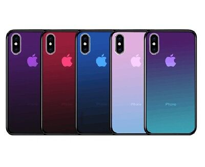 for Apple iPhone XS Max XR 7 8 6S Plus Shockproof Hybrid Tough Glass Case Cover 2