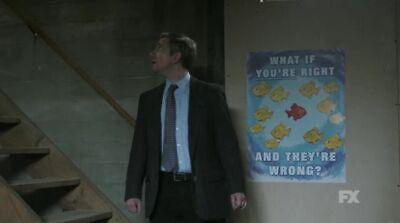 Fargo What If You Re Right And They Re Wrong P/óster decorativo lienzo de pared para sala de estar 20 x 30 cm