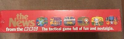 """Vintage New Sealed Board Game """"The News From The BBC""""  Great Games Company 1987 6"""