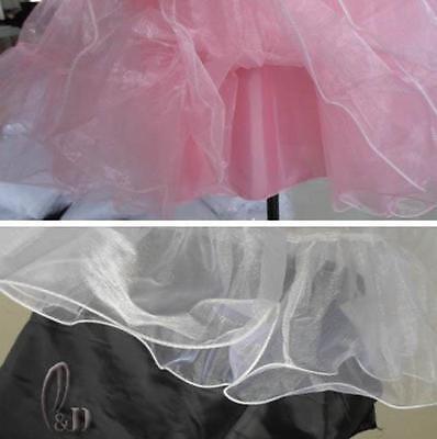 "AU SELLER 26"" Retro 50s Underskirt Rockabilly Bridal Petticoat Dance Tutu da018 6"