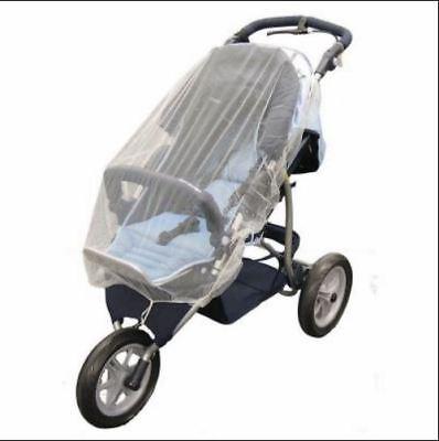 NEW White Mosquito Net Mesh Cover Child Bassinet Austlen Baby Entourage stroller 2