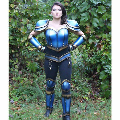 SIMPLICITY 8630 Misses//Plus Sized Cosplay Foam Armor Costume Sewing Pattern