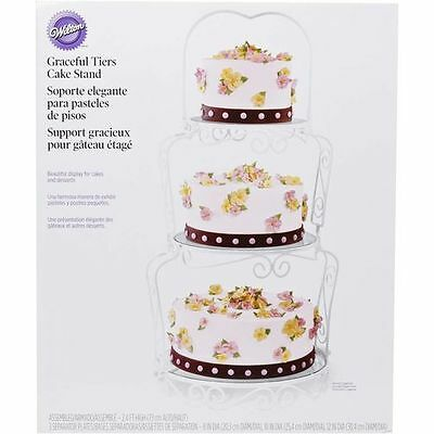 2 Of 6 Wilton Graceful Tiers Cake Stand, Wedding Cake Stand, 3 Tier  Cakestand,