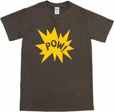 Pow! T-Shirt - Retro 60's, 70's, Pop Art, Comic Book Style, Various Colours 7