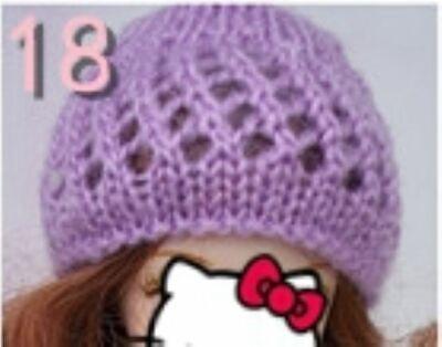 Doll Accessories Warm Winter Headwear Hairwear Woven Knitting Hat For 1/6 Doll 6