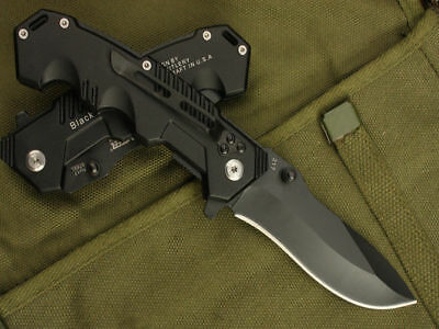 Folding Pocket Knife Outdoor Camping Survival Tactical Hunting WIL-PK-06 2