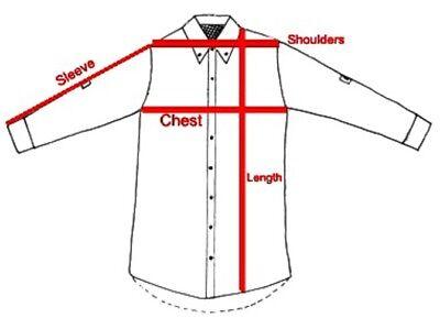 """(10) Men's Perminant Press Long Tail Ranchwear 70's style Cowboy shirt46"""" XL 8"""