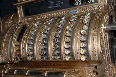 Registrierkasse National Cash Register Sammlerstück Ladenkasse Tante Emma Kasse 9