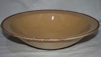 Antiguo Lebrillo De Ceramica Esmaltada, Marca De Alcora O Buen Retiro ? Loza