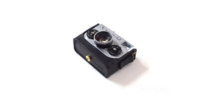 Handmade Real Leather Cover Case  With strap For Rollei 35 35S 35T