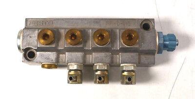 Festo FR-8-1/8 2077 Verteilerblock