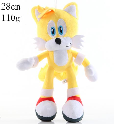 Sonic Plüschtier The Hedgehog Igel Plüsch Figur Kuscheltier Stofftier Toys 25cm#