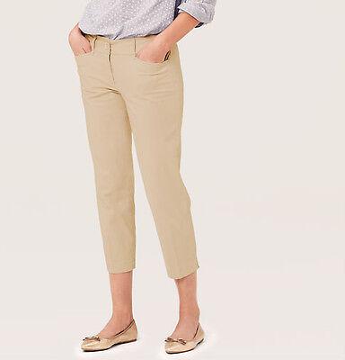2 Regul Ann Taylor LOFT Custom Stretch Pencil Pants in Marisa Fit Size 2 Petite