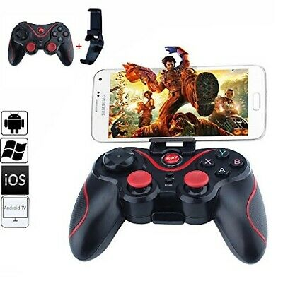 Bluetooth Wireless Gamepad Joystick Joypad Controller di gioco per PC Android iP 2