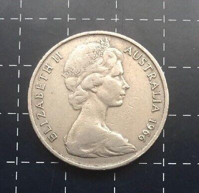 1966 Australian 20 Cent Coin 5