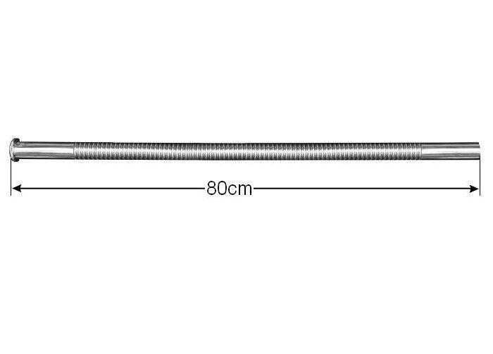 Edelstahl Siphon flexibel DN30 Waschbecken Ablaufgarnitur Spülenablauf Schlauch 2